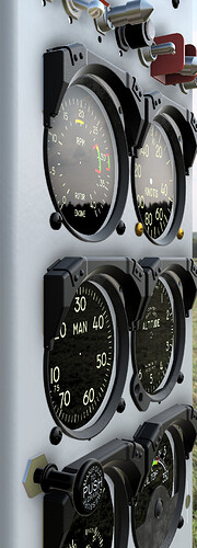 Bell 47G-2A Instrument Panel v10-2