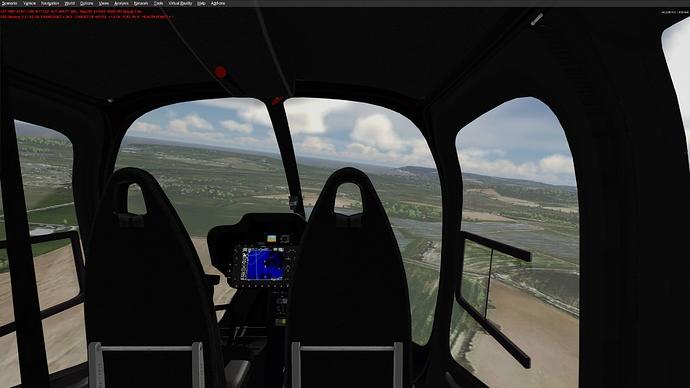 Bell 505 Interior