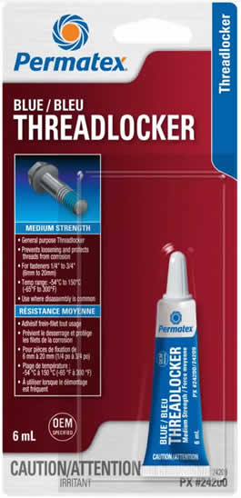 Blue ThreadLocker